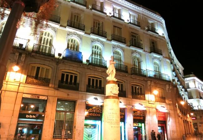 Iltapalalla Madridissa