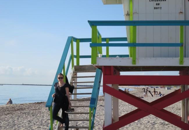 Aikaerosta pöhkönä shoppailemassa Miami Beachilla