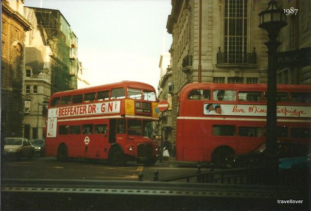 Minä ja Lontoo vuosina 1987 ja 2010
