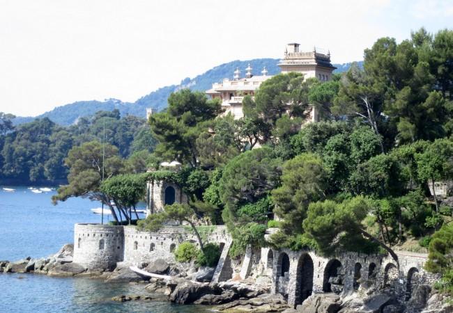Aamupalakävelyllä Rapallosta Santa Margherita Ligureen