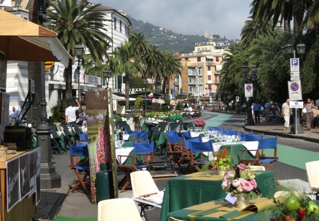 Tappeto verde ja wanna be urheilullisuutta Genovan ulkopuolella