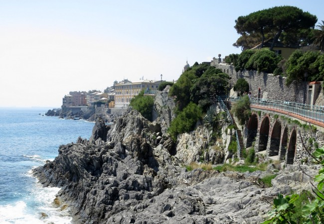 Nervi ja Boccadasse – kauniita Ligurian rannikon pikkukaupunkeja