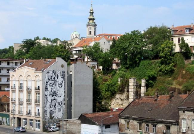 Toinen päivä Belgradissa ja kelluvia kesämökkejä Sava-joella