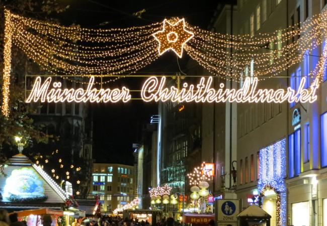 München joulukuussa – joulumarkkinoita ja tunnelmaa