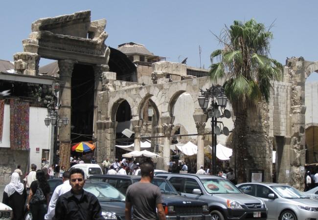 Damaskos – ensi kosketukseni Lähi-itään