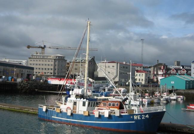 Reykjavik, ensimmäinen etappi häämatkalla. Kun heinäkuussa tarvitsee pilkkihaalaria