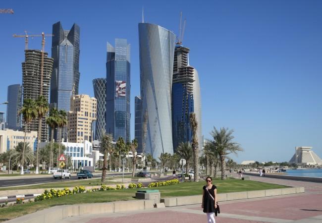 Uutta ja vanhaa – pilvenpiirtäjiä ja taidetta Dohassa