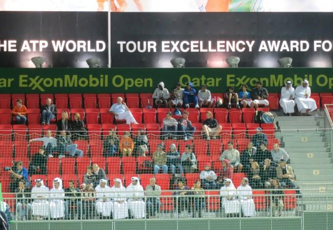 Tennisturnauksessa Dohassa