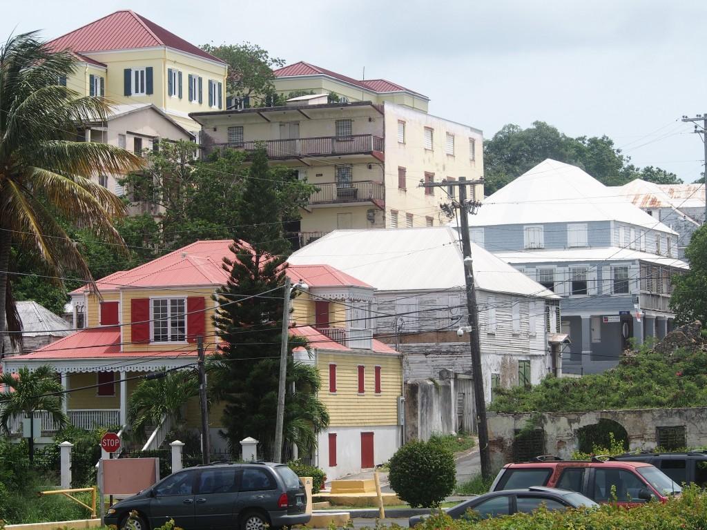 Cristiansted ja Frederiksted St. Croixilla