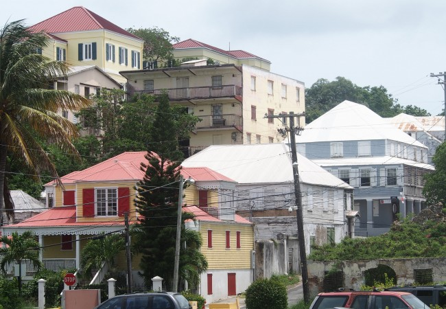 Cristiansted ja Frederiksted St. Croixilla