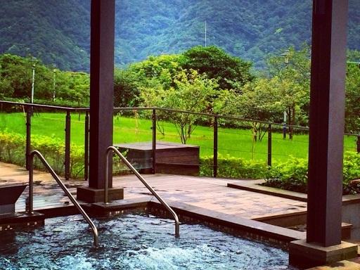 Taiwanilaisessa kylpylässä