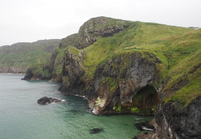 Pohjois-Irlannin komealla rannikolla