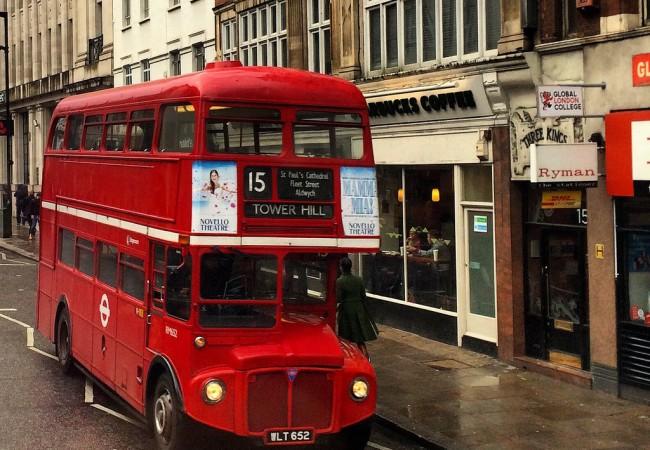 Lontoo – rakkaudesta punaisiin busseihin