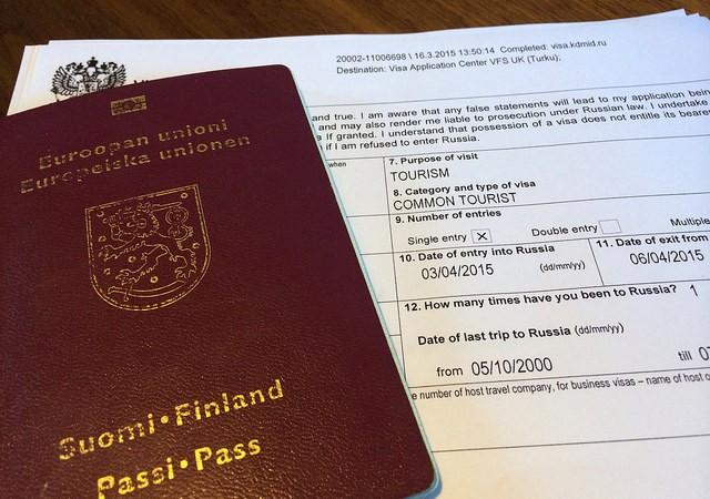 Venäjän viisumi vaivatta