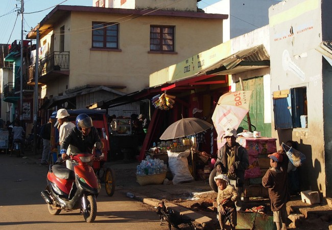 Madagaskarin ylängöillä