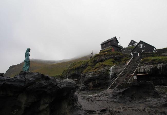 Färsaarten pohjoissaaret ja hyljenaisen legenda