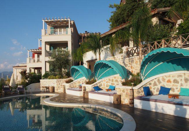 Täydelliset – hotelli Unique ja ravintola Mori Fethiyessä