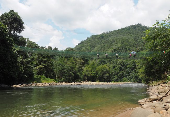 Kiulu farmstay – aitoutta ja aitoa huolenpitoa Borneolla