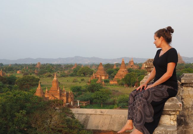 Bagan on temppelifriikin taivas