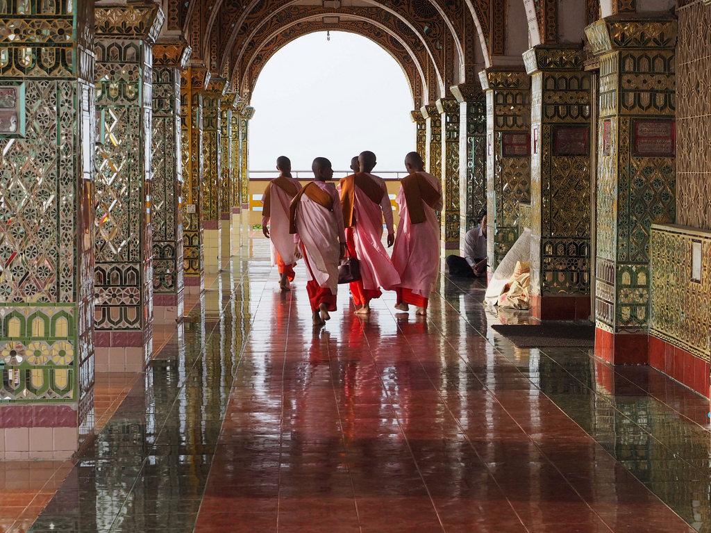 Mandalay – hieno temppelien kaupunki