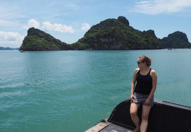 Halong Bay -risteily yllätti monipuolisuudellaan