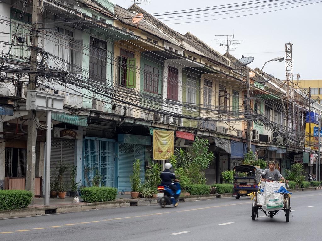 Bangkok, et viihdytä minua enää