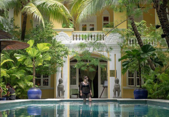 Pavilion Hotel – keidas Phnom Penhin parhaalla paikalla