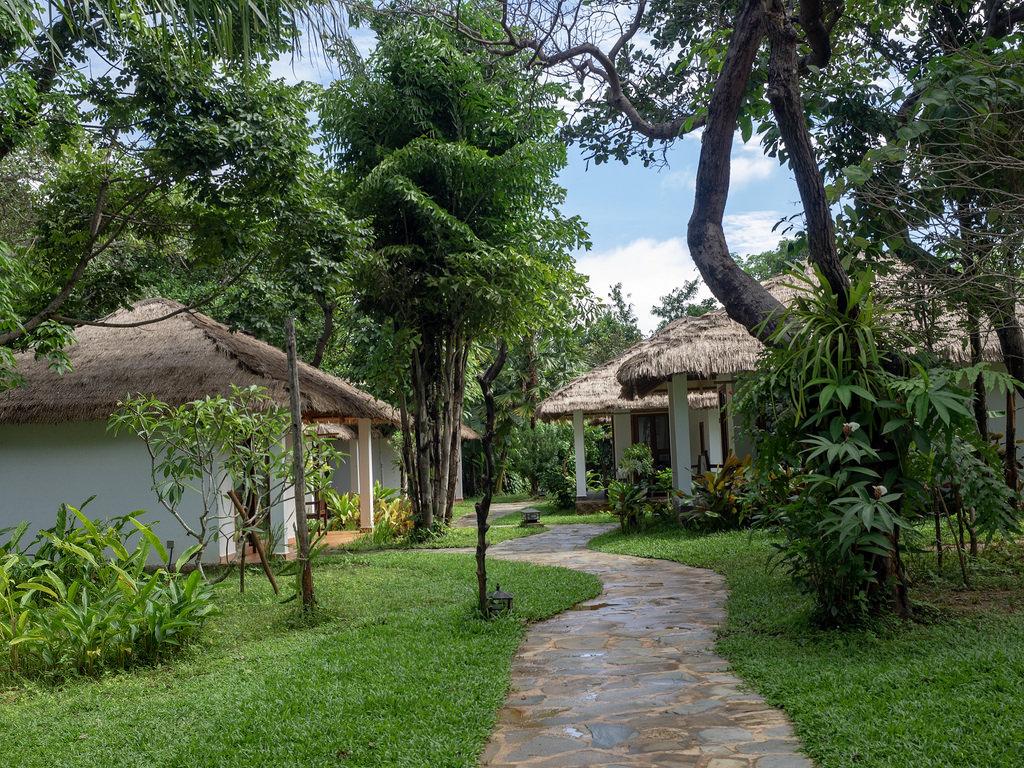 Villa Kep Resort sai stressikimpun rentoutumaan