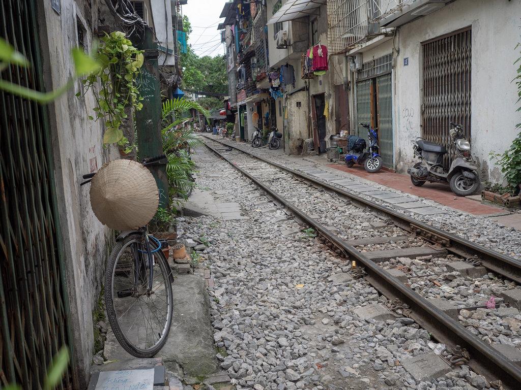 Hanoi – kun rautatie halkoo kaupungin