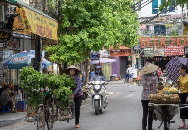 Kas Hanoi, me tapasimme taas