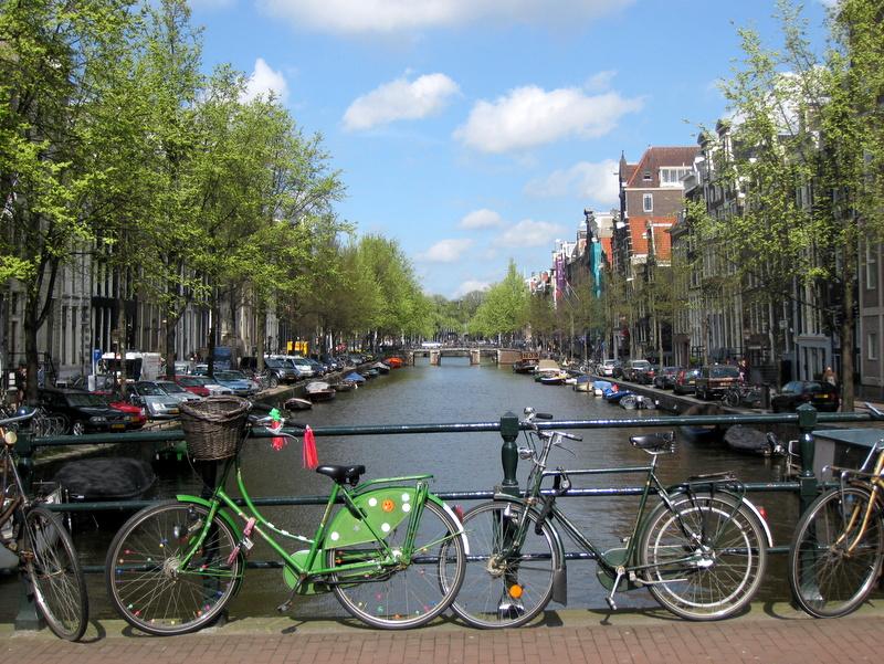 Yksin matkalla, osa keväinen Amsterdam