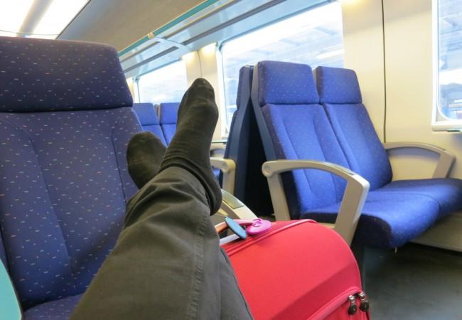 Junalla Belgiassa ja Luxemburgissa