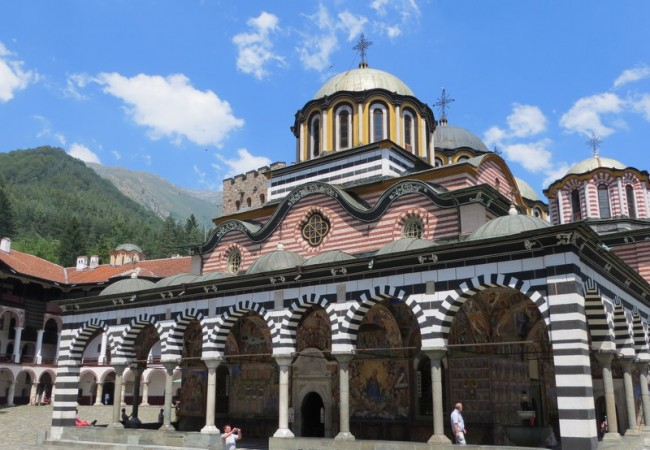 Rila monastery – mikä aarre!