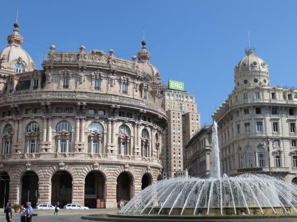 Sadepäivä (!) Genovassa