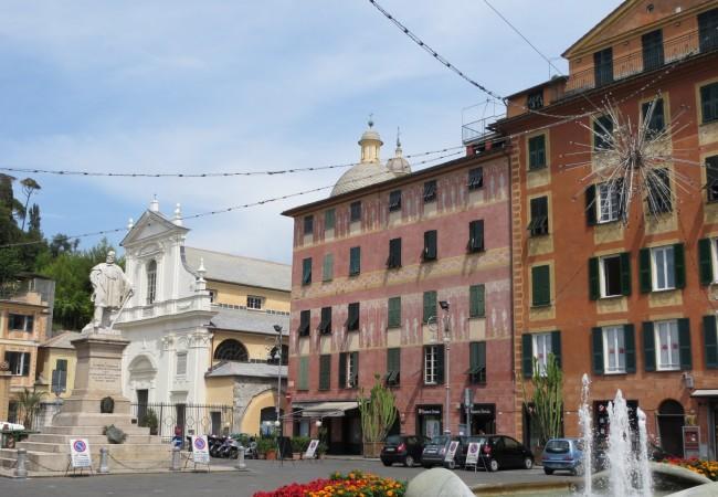 Chiavari – kiva pieni rantakaupunki Ligurian rannikolla (ja pari muuta)