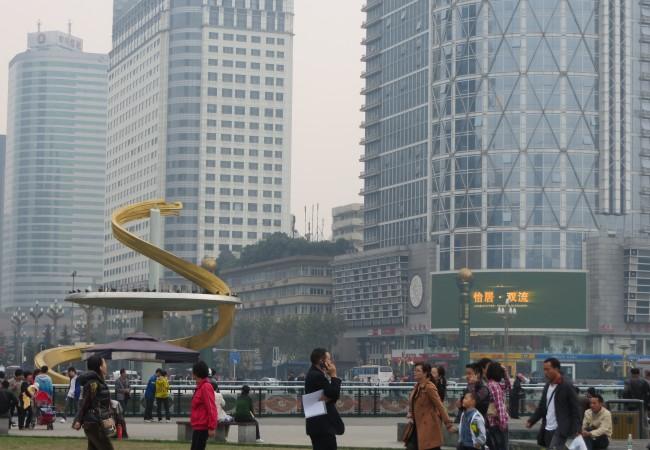 Vielä Chengdua kuvina
