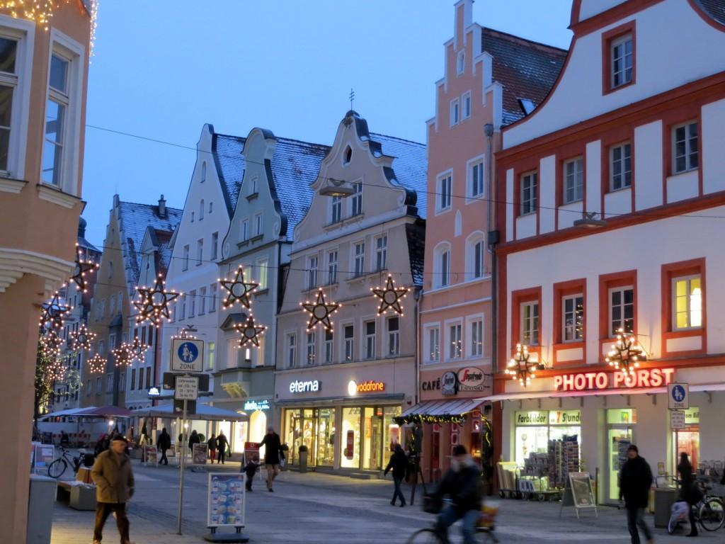Ingolstadt – joulumarkkinoita, ostoksia ja herkkuruokaa