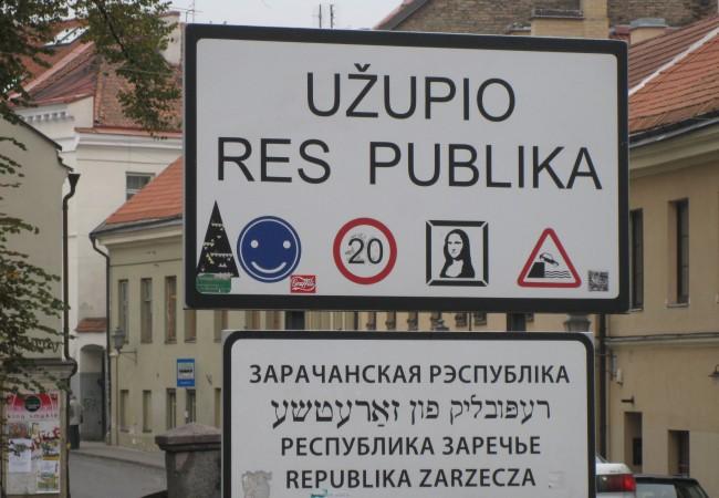 Užupis – vapaakaupunki, joka ehkä tahtoisi olla valtio
