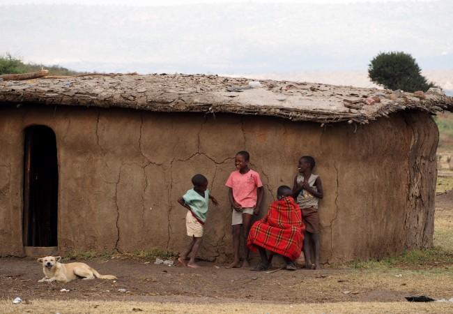Masai-kylässä