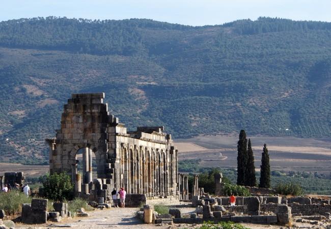 Volubilis – Unescon maailmanperintökohde Marokossa