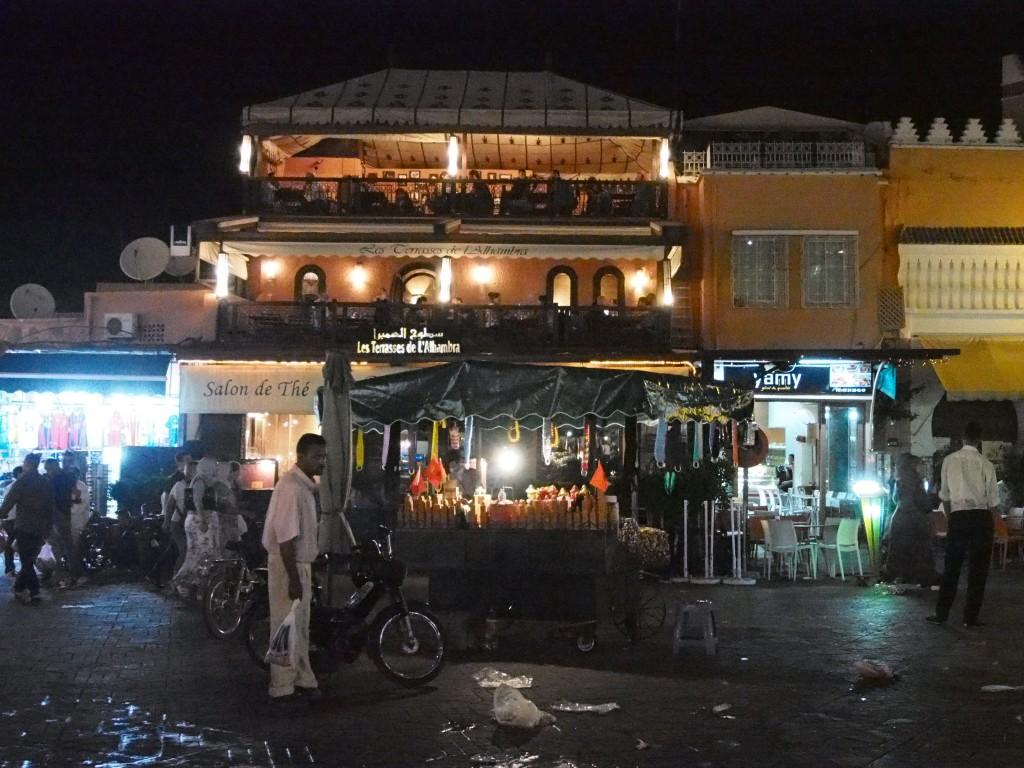 Tarunhohtoinen (todellisuudessa kaoottinen) Marrakesh