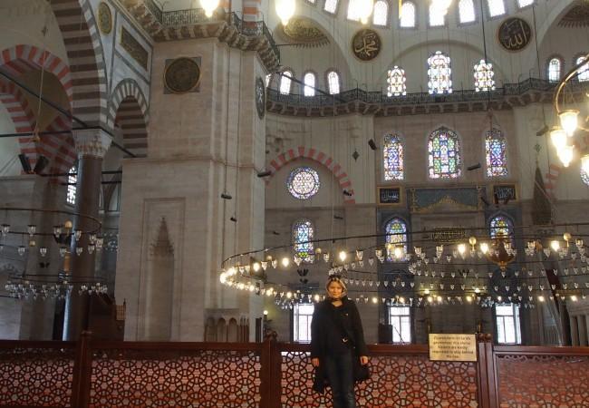 Suleimanin moskeija ja puutalokorttelit