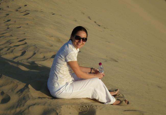 Hiekkaa, hiekkaa ja hiljaisuutta – aavikkosafari Qatarissa