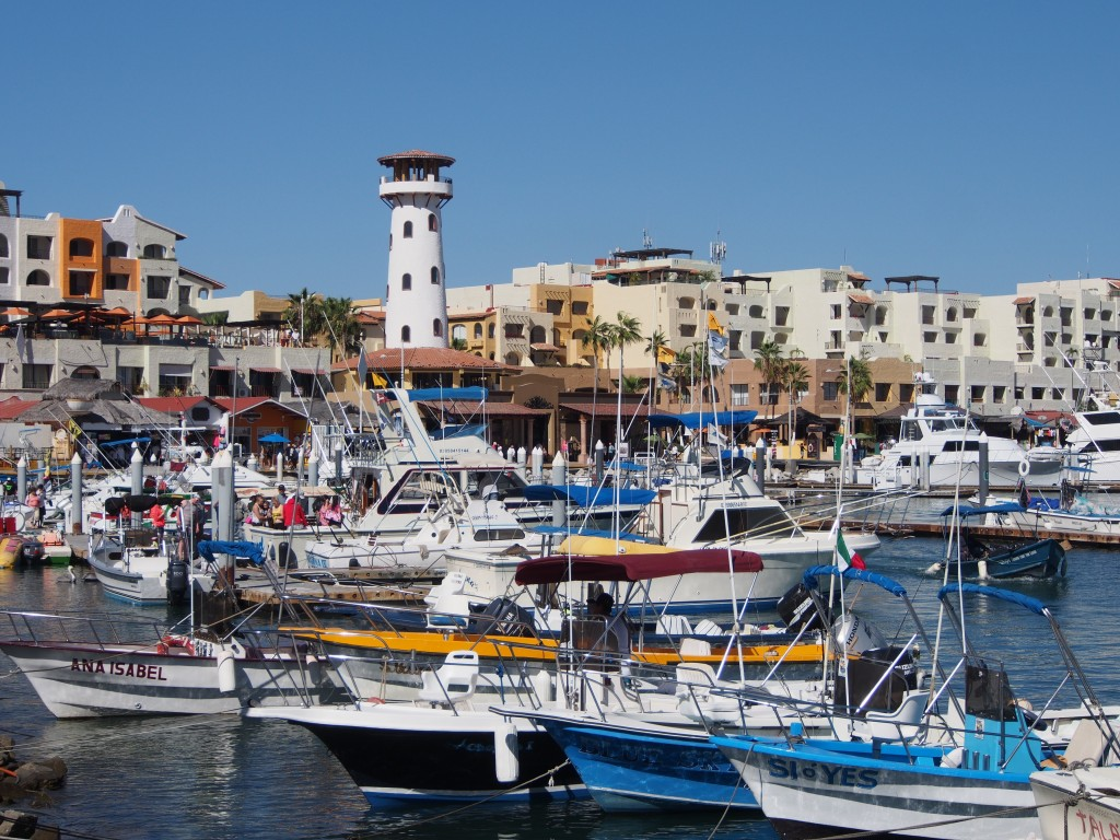 Ensimmäinen pysähdys – Cabo San Lucas