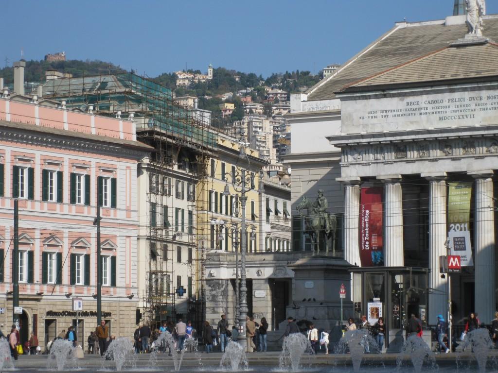 Pohjoisen Italian helmiä: rinteille kasvanut Genova
