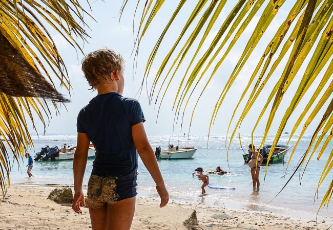 Lasten kanssa Karibialle – ja takaisin