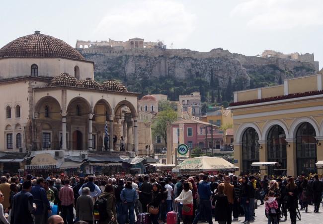 Ateenassa vielä vailla päämääriä