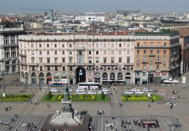 Pitkäksi viikonlopuksi Milanoon