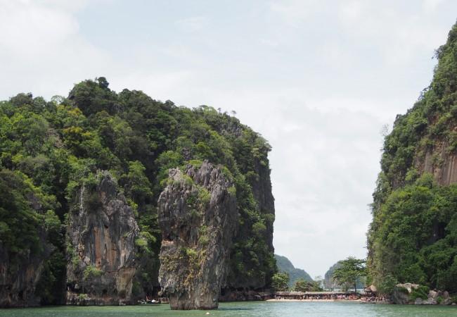 James Bond saari ja muuta Phang Ngan lahtea