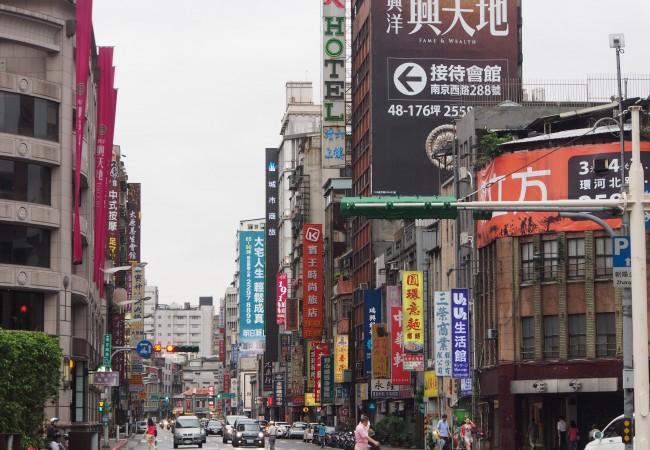 Kiertotietä mutta vihdoin Taipeissa